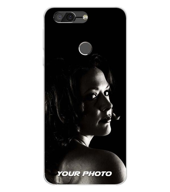 Your Photo Soft Silicone Back Cover for InFocus Vision 3 Pro