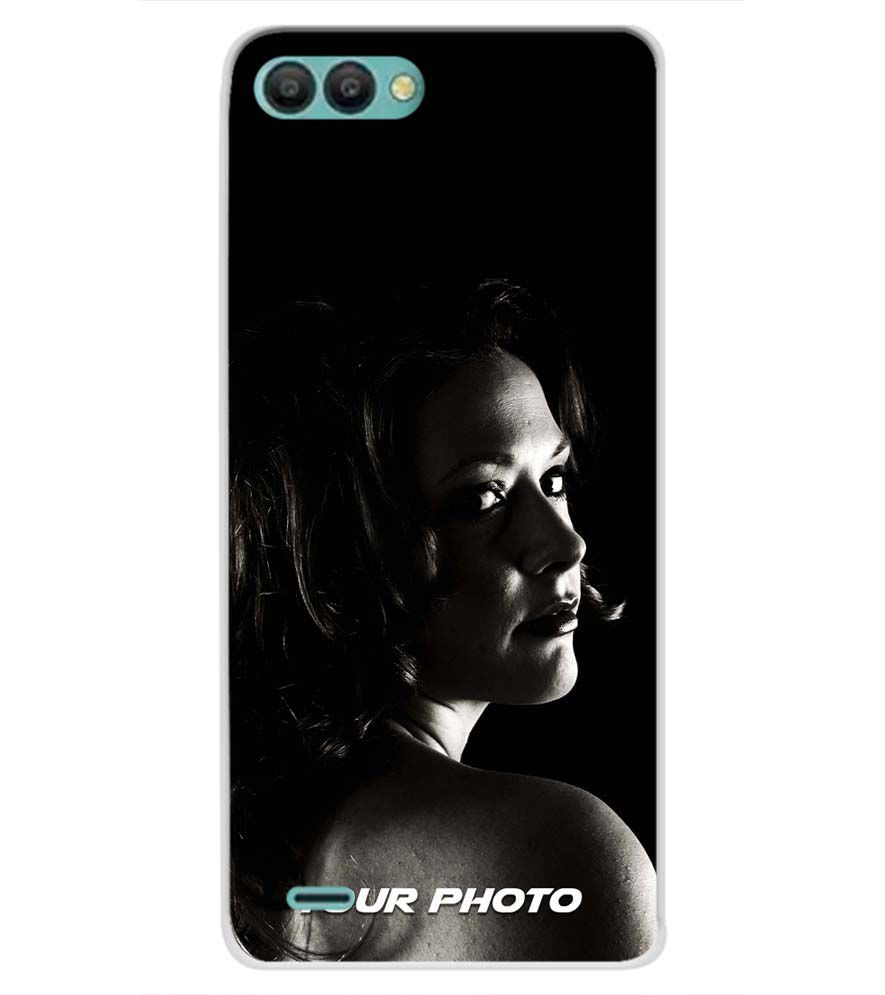 256fe4cb1101e7 Buy Soft Silicone Printed Your Photo Personalised Case for Itel A44 ...