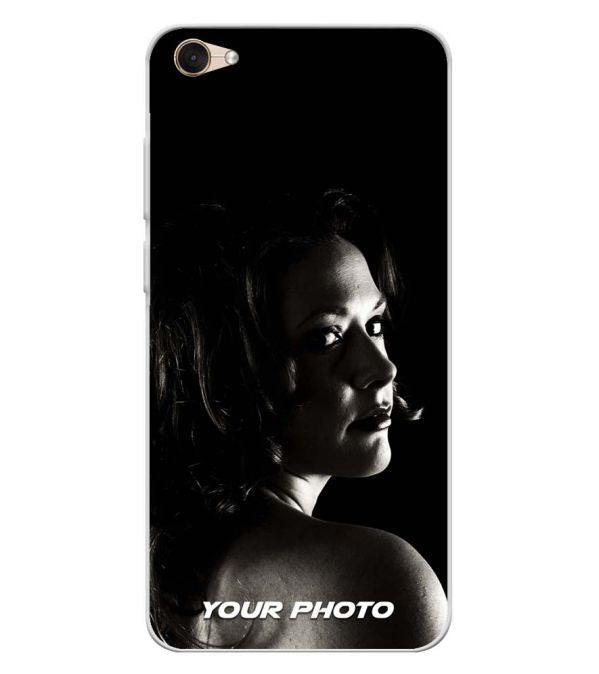 Your Photo Soft Silicone Back Cover for Lava Z61