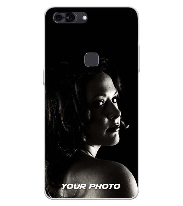 Your Photo Soft Silicone Back Cover for Lava Z90
