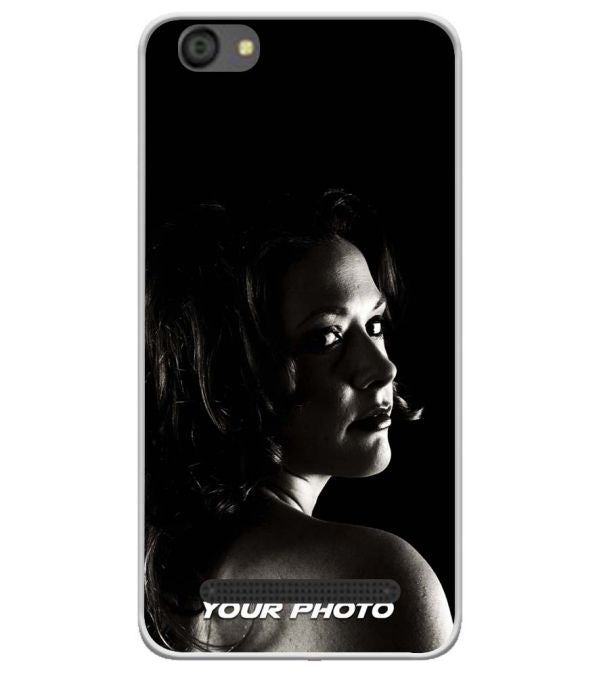 Your Photo Soft Silicone Back Cover for LYF Flame 5