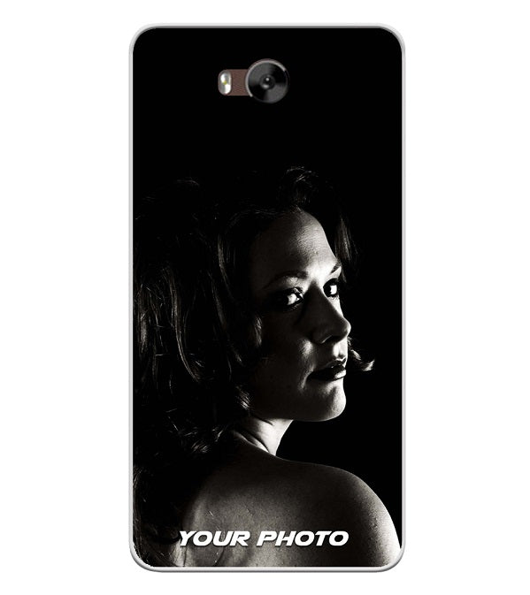 Your Photo Soft Silicone Back Cover for LYF Wind 4s
