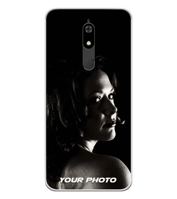Your Photo Soft Silicone Back Cover for Micromax Canvas Infinity Pro