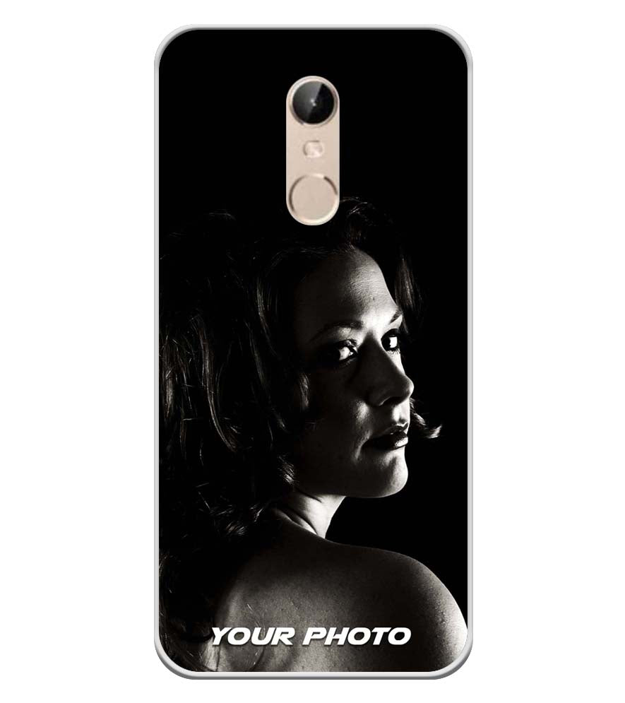 innovative design 4e5ae cc594 Your Photo Soft Silicone Back Cover for Mobiistar X1 Dual