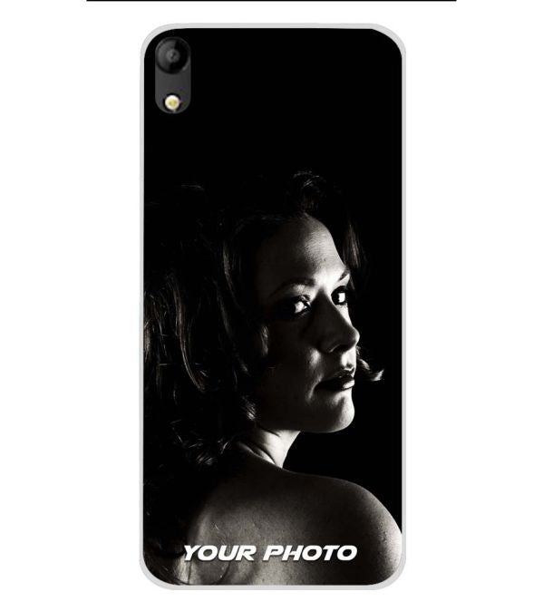 Your Photo Soft Silicone Back Cover for Mobistar C1