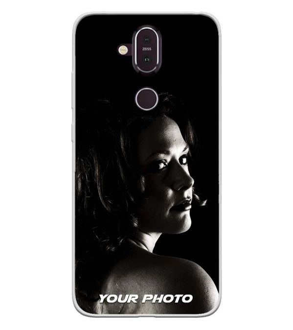 Your Photo Soft Silicone Back Cover for Nokia 8.1 (Nokia X7)