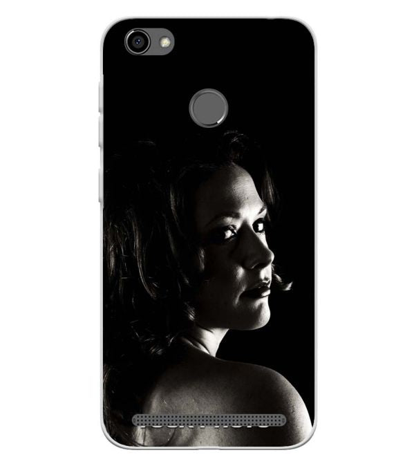Your Photo Soft Silicone Back Cover for Panasonic P85 NXT