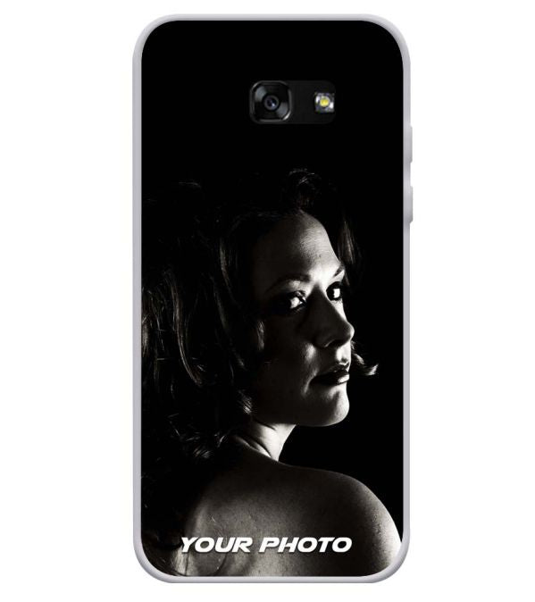 Your Photo Soft Silicone Back Cover for Samsung Galaxy A3 (2017)