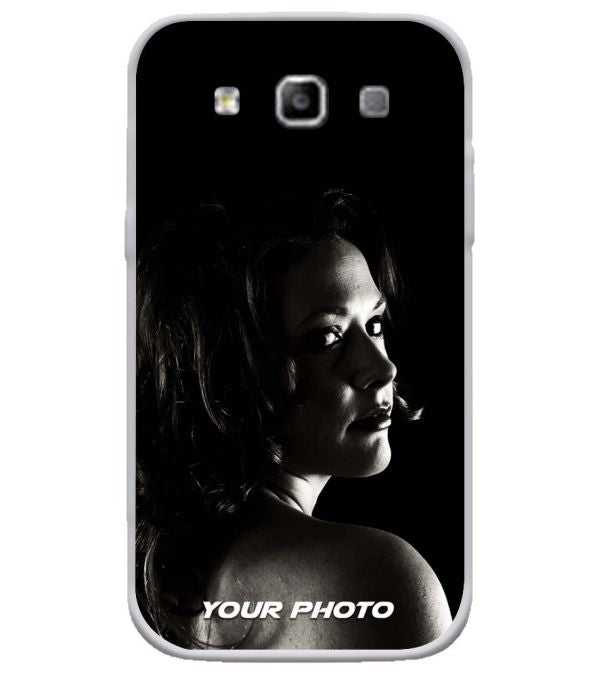Your Photo Soft Silicone Back Cover for Samsung Galaxy Grand Quattro 8552
