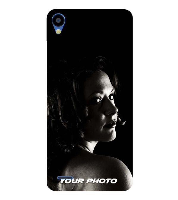 promo code 5a8cf 702d5 Your Photo Soft Silicone Back Cover for Tecno Camon I Ace