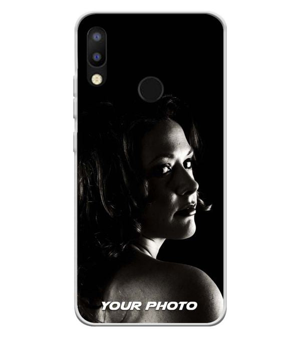 Your Photo Soft Silicone Back Cover for Tecno Camon i2