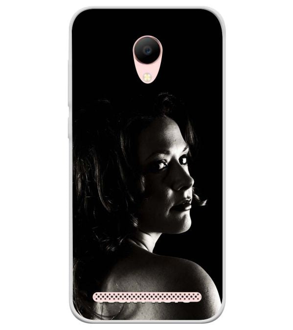 Your Photo Soft Silicone Back Cover for Voto V2