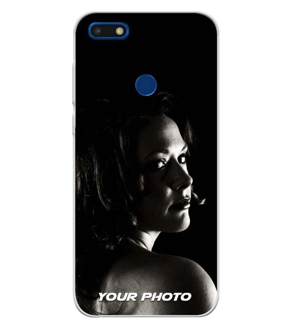 Your Photo Soft Silicone Back Cover for YU Ace