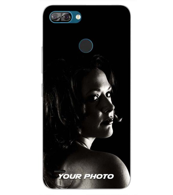 Your Photo Back Cover for Itel A46-Image3