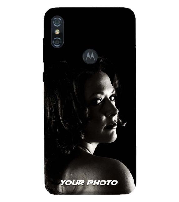 Your Photo Back Cover for Motorola One (P30 Play)