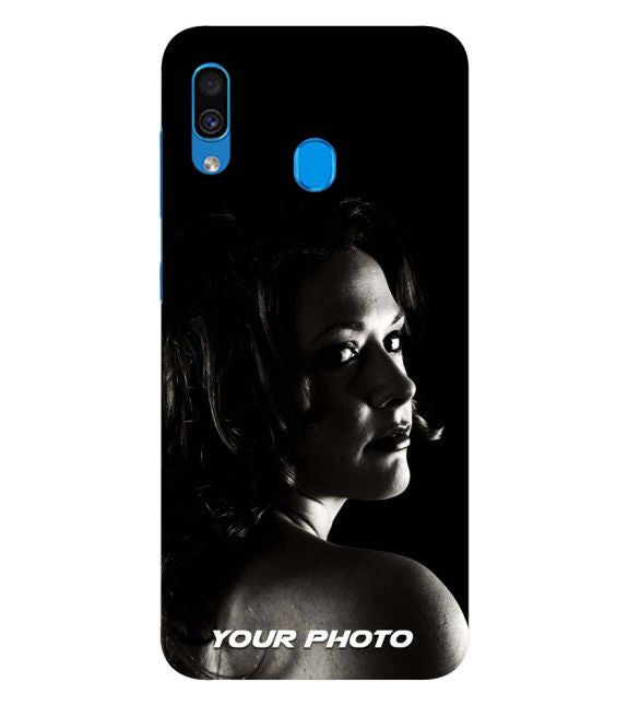 Your Photo Back Cover for Samsung Galaxy A20