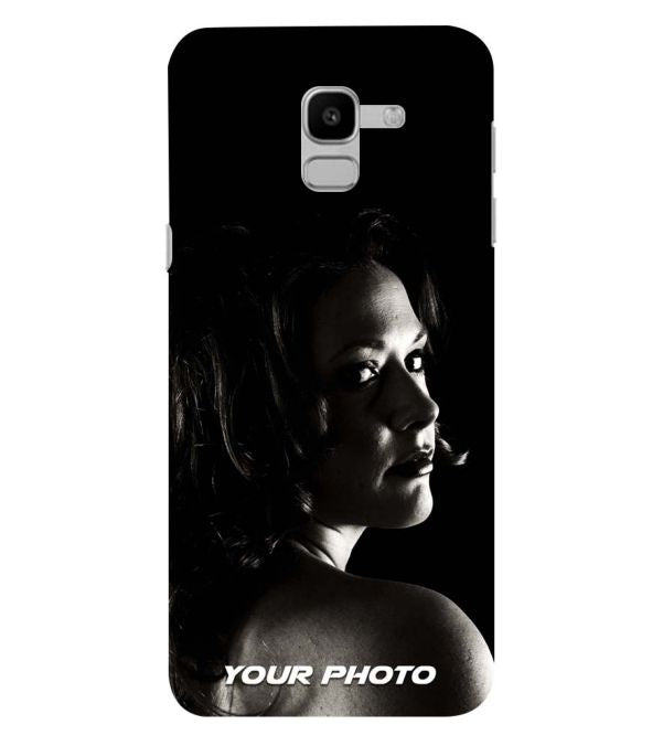 Your Photo Back Cover for Samsung Galaxy J6 (2018)