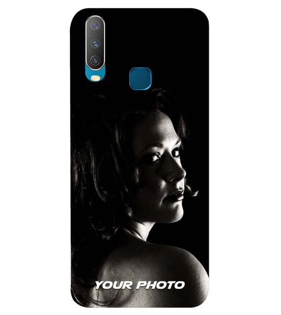 finest selection 921c3 b992e Your Photo Back Cover for Vivo Y17