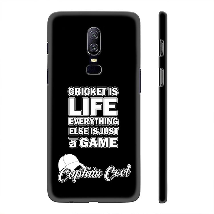 Cricket Is Life Back Cover for OnePlus 6