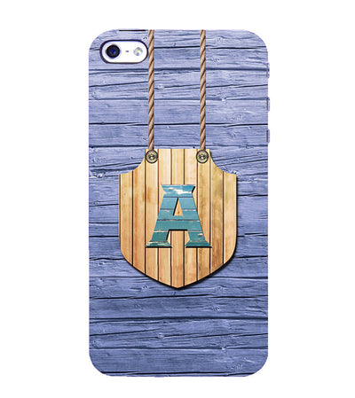 Customised Alphabet Back Cover for Apple iPhone 4 : 4S