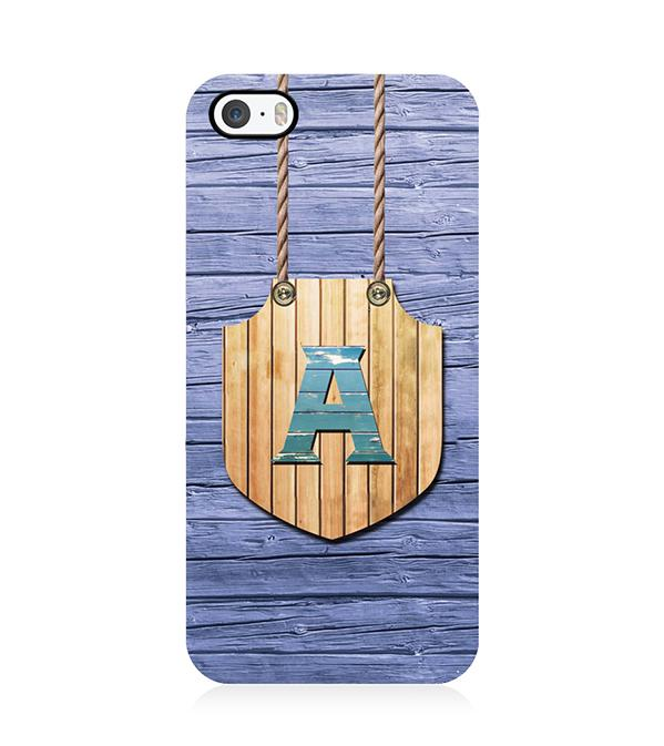 Customised Alphabet Back Cover for Apple iPhone 5 and iPhone 5S and iPhone SE