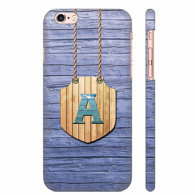 Customised Alphabet Back Cover for Apple iPhone 6 Plus and iPhone 6S Plus