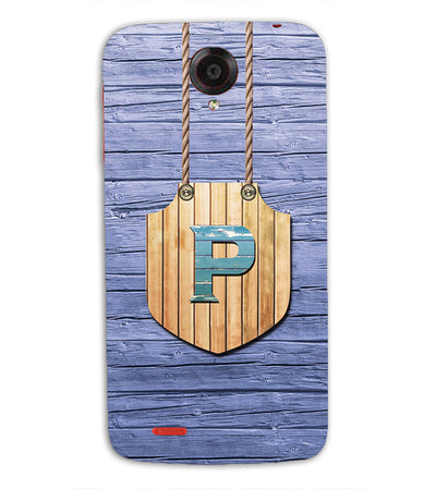 Customised Alphabet Back Cover for Lenovo S820-Image3