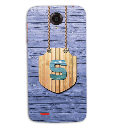Customised Alphabet Back Cover for Lenovo S820-Image4