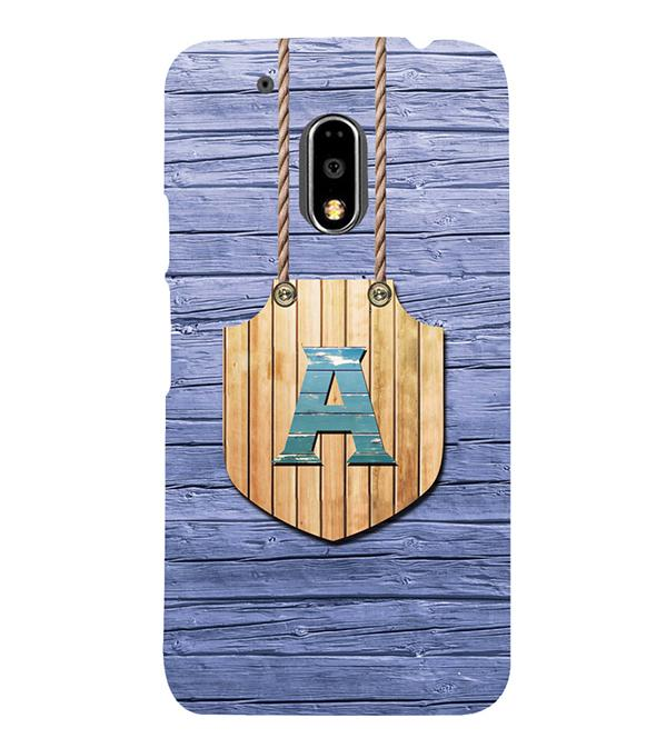 Customised Alphabet Back Cover for Motorola Moto G4 and Moto G4 Plus