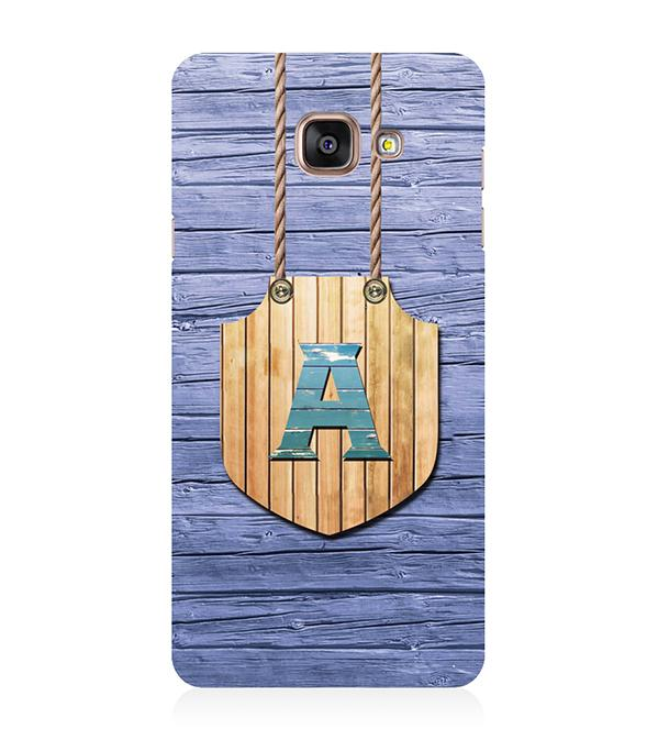 Customised Alphabet Back Cover for Samsung Galaxy A5 (6) 2016
