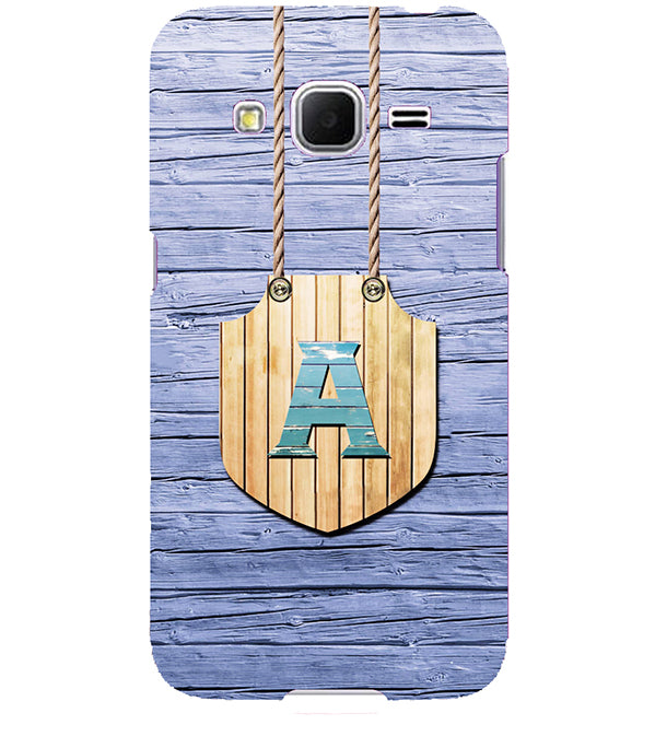 designer fashion 21229 1f418 Customised Alphabet Back Cover for Samsung Galaxy Core Prime
