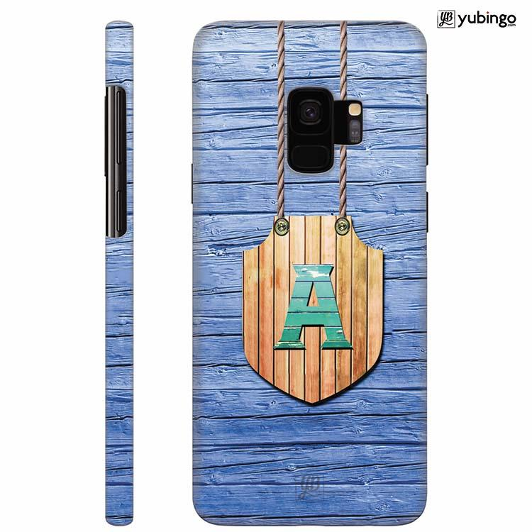 Customised Alphabet Back Cover for Samsung Galaxy S9