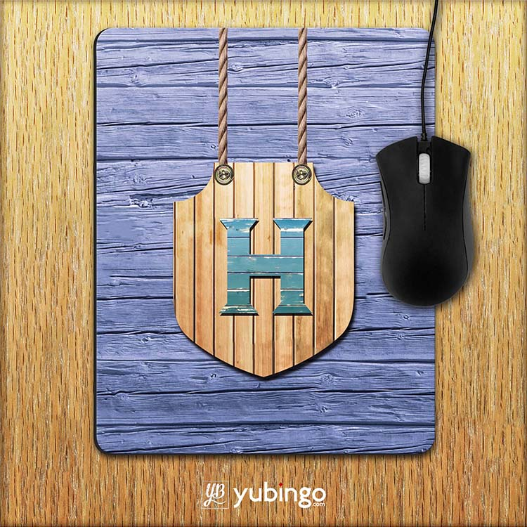 Customised Alphabet Mouse Pad