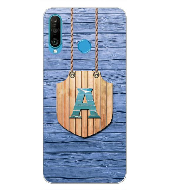 Customised Alphabet Back Cover for Huawei P30 lite-Image3