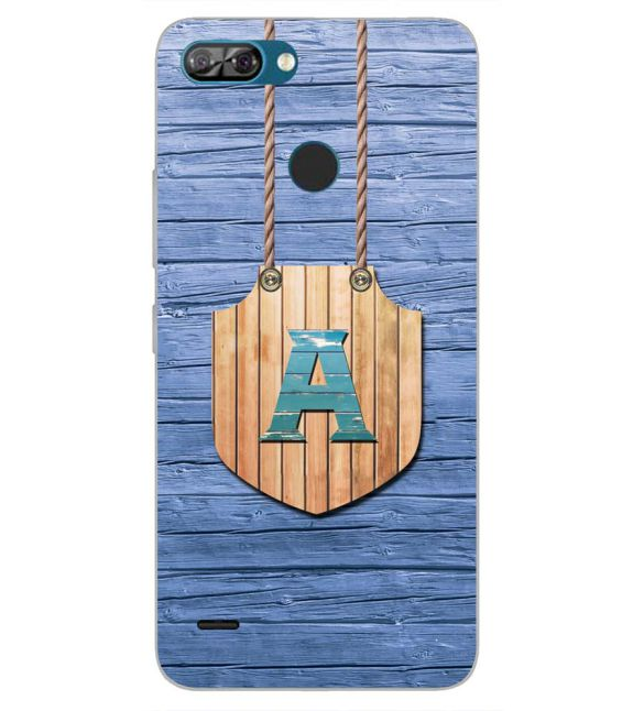 Customised Alphabet Back Cover for Itel A46-Image3
