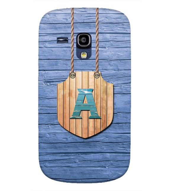 Customised Alphabet Back Cover for Samsung Galaxy S3 Mini
