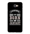 Customised Legends Back Cover for Samsung Galaxy J7 Prime (2016)