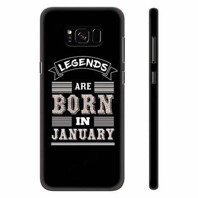 Customised Legends Back Cover for Samsung Galaxy S8 Plus