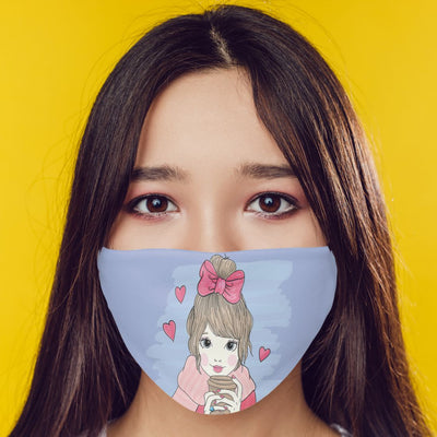 Cute Girl Mask-Image2