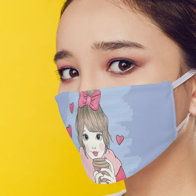 Cute Girl Mask-Image3