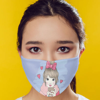 Cute Girl Mask-Image4