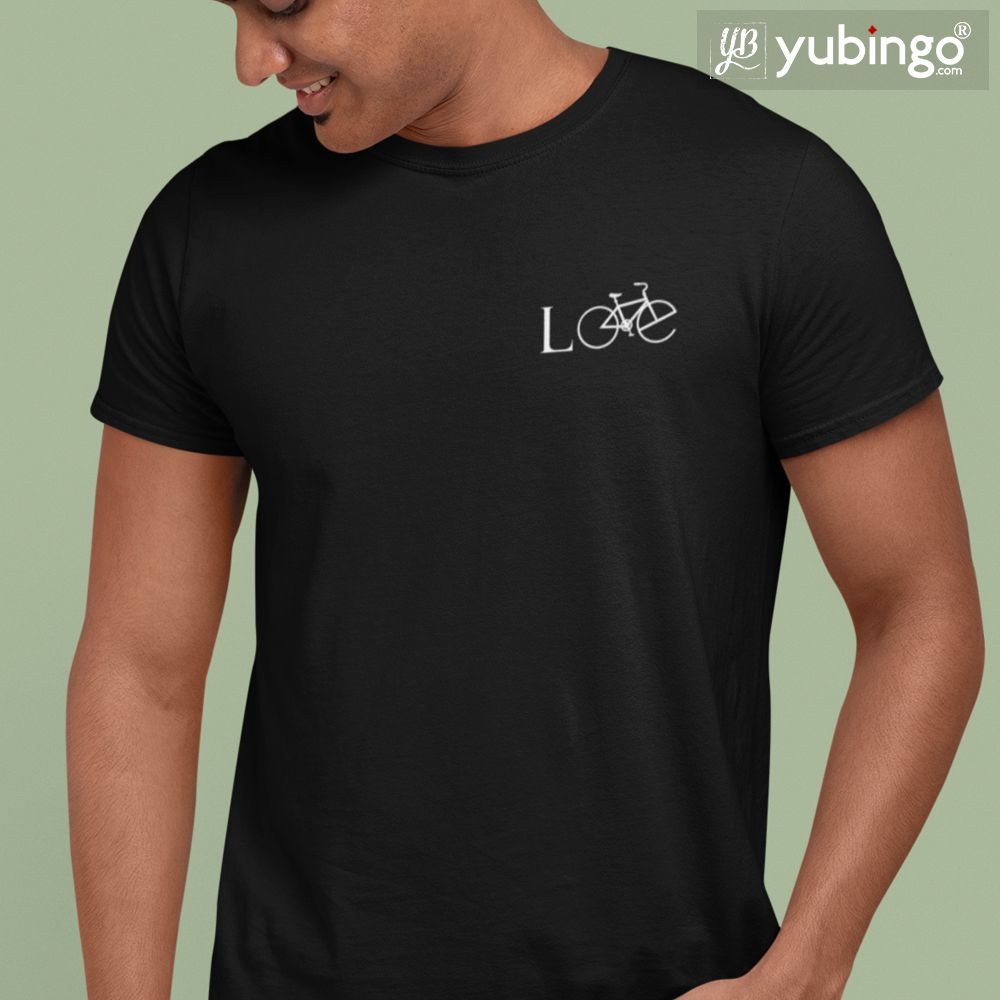Cycling Love T-Shirt-White