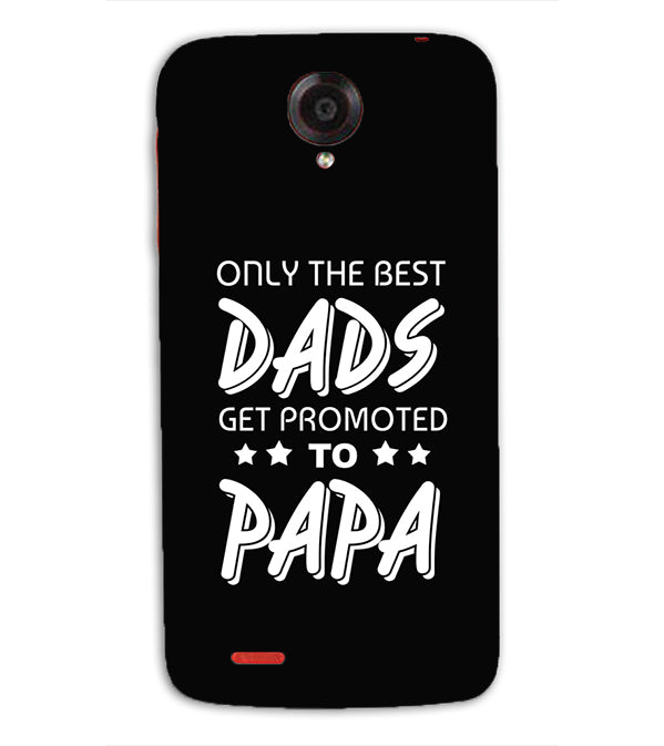 Dad and Papa Back Cover for Lenovo S820