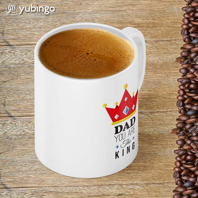 Dad Is King Coffee Mug-Image4