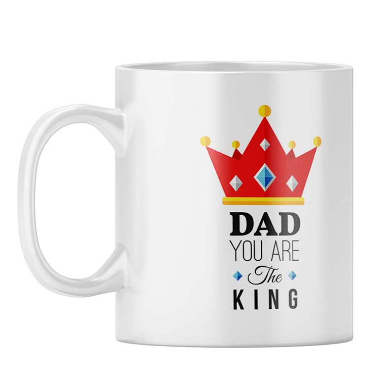 Dad Is King Coffee Mug