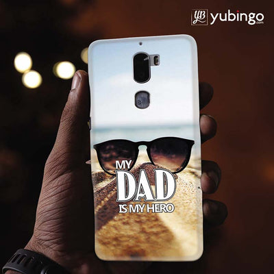 Dad is My Hero Back Cover for Coolpad Cool 1-Image2