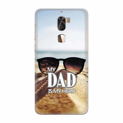 Dad is My Hero Back Cover for Coolpad Cool 1