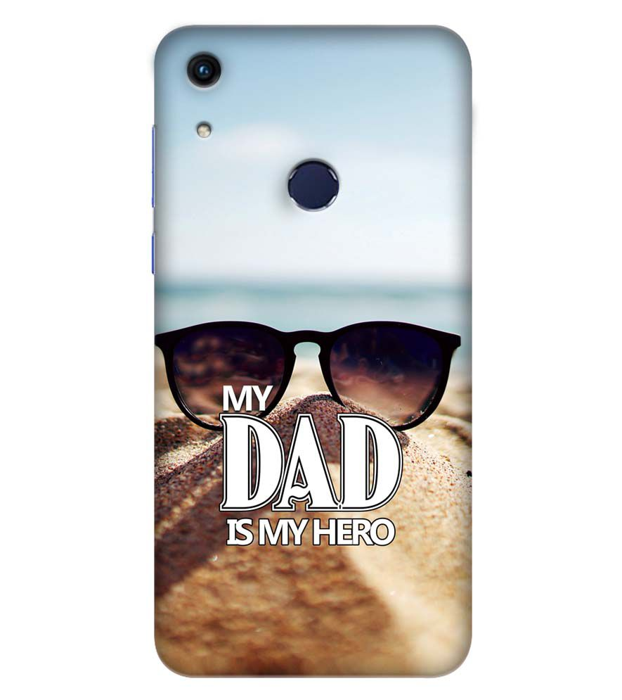 design di qualità 25180 c39ad Buy Hard Plastic Printed Dad is My Hero Back Cover for Huawei ...