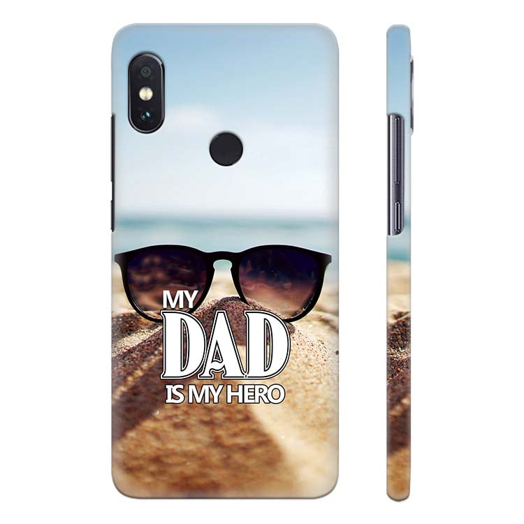 promo code b6954 0a216 Dad is My Hero Back Cover for Xiaomi Redmi Note 5 Pro