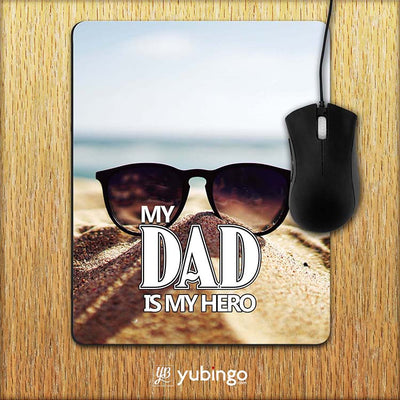Dad is My Hero Mouse Pad-Image2